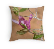Japanese Magnolia Bloom Throw Pillow