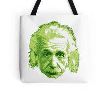 Albert Einstein - Theoretical Physicist - Green Tote Bag