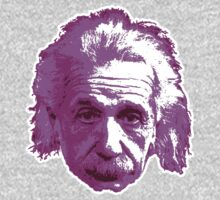 Albert Einstein - Theoretical Physicist - Pink One Piece - Long Sleeve