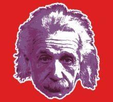 Albert Einstein - Theoretical Physicist - Pink One Piece - Short Sleeve