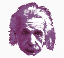 Albert Einstein - Theoretical Physicist - Pink One Piece - Short Sleeve