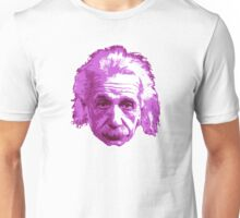 Albert Einstein - Theoretical Physicist - Pink Unisex T-Shirt