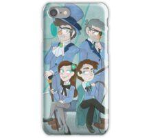 Reverse Pines Family Portrait iPhone Case/Skin