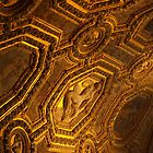 Ceiling in The Doge's Palace, Venice by kimhaz