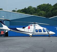 Agusta G-MCAN - Castle Air Charters by Peter Gosling