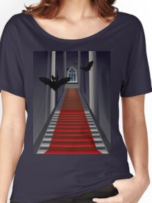 Gothic Stairs Interior Women's Relaxed Fit T-Shirt