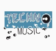 Techno Music Kids Clothes