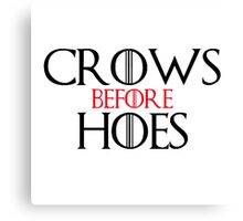 Crows Before Heos Canvas Print