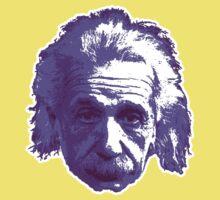 Albert Einstein - Theoretical Physicist - Purple Kids Tee