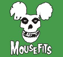 I Want Your Cheese! Mousefits Logo One Piece - Short Sleeve