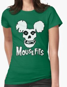 I Want Your Cheese! Mousefits Logo Womens Fitted T-Shirt