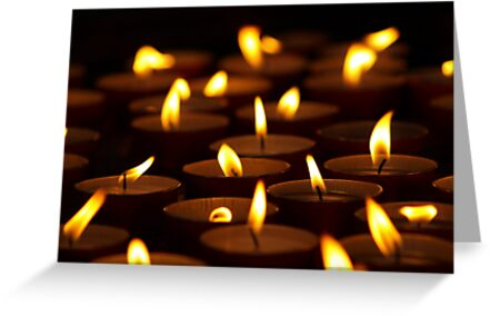 Votive Candles by kimhaz