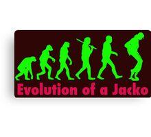 Jacko green Canvas Print