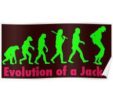 Jacko green Poster