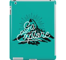 Go To Explore iPad Case/Skin