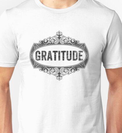 Gratitude Unisex T-Shirt