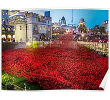 Poppies Tower Of London Poster