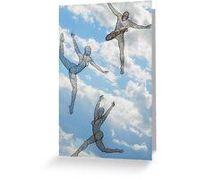 Sky Sculpture V Greeting Card
