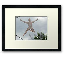 Sky Sculpture VI Framed Print