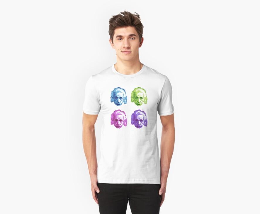 Albert Einstein - Theoretical Physicist - Rainbow by graphix