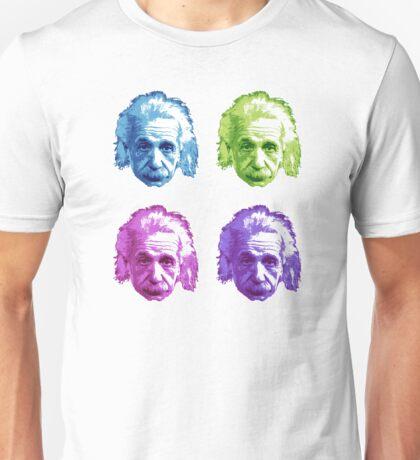 Albert Einstein - Theoretical Physicist - Rainbow Unisex T-Shirt
