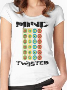 TWISTED MIND Women's Fitted Scoop T-Shirt