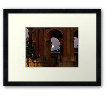 Moon Palace Framed Print
