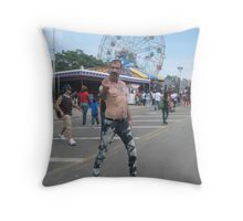 Bad boys rule! Throw Pillow