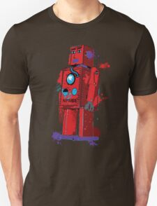 Red Robot Lilliput Splattery Shirt or iPhone Case T-Shirt