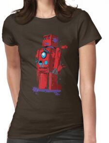 Red Robot Lilliput Splattery Shirt or iPhone Case Womens Fitted T-Shirt