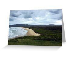 Moonee Beach Greeting Card