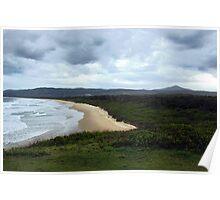 Moonee Beach Poster