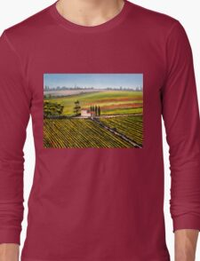Tuscany - Vineyards Long Sleeve T-Shirt