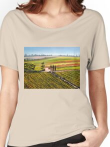 Tuscany - Vineyards Women's Relaxed Fit T-Shirt