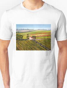Tuscany - Vineyards Unisex T-Shirt