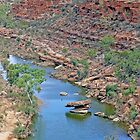 Kalbarri Gorge by Graeme  Hyde