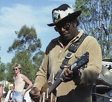 Bo Diddley @ 2JJJ Concert, Mount Druitt, 1981 by muz2142
