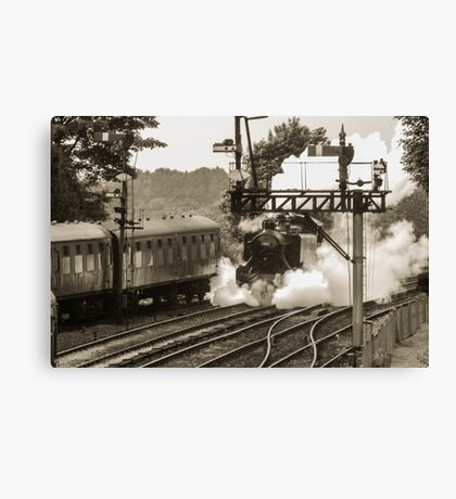 old school transport Canvas Print