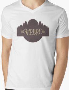 BioShock – Rapture Records Logo Mens V-Neck T-Shirt