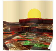Stratigraphy - Formation Textures Poster
