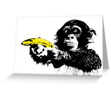 Bad Monkey Greeting Card