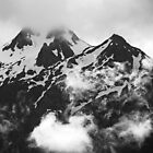 Cross Mountain on a Cloudy Day by Jennifer Hulbert-Hortman