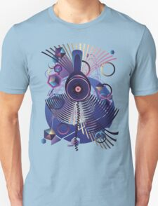 Stylized Music Poster T-Shirt