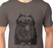 Black Creepycat Unisex T-Shirt