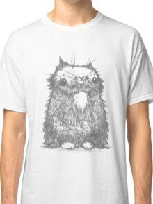 Grey Creepycat Classic T-Shirt