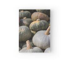 pumpkin in autumn Hardcover Journal