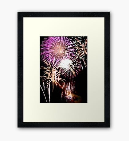 Color Display © Framed Print