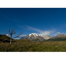 Torres del Paine National Park, Patagonia, Chile Photographic Print