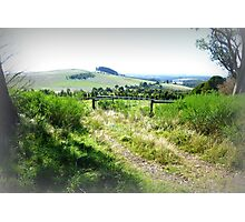 Between Daylesford & Woodend Vic. Photographic Print
