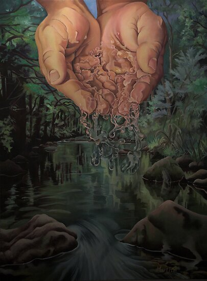 River of Life by Martha Mitchell